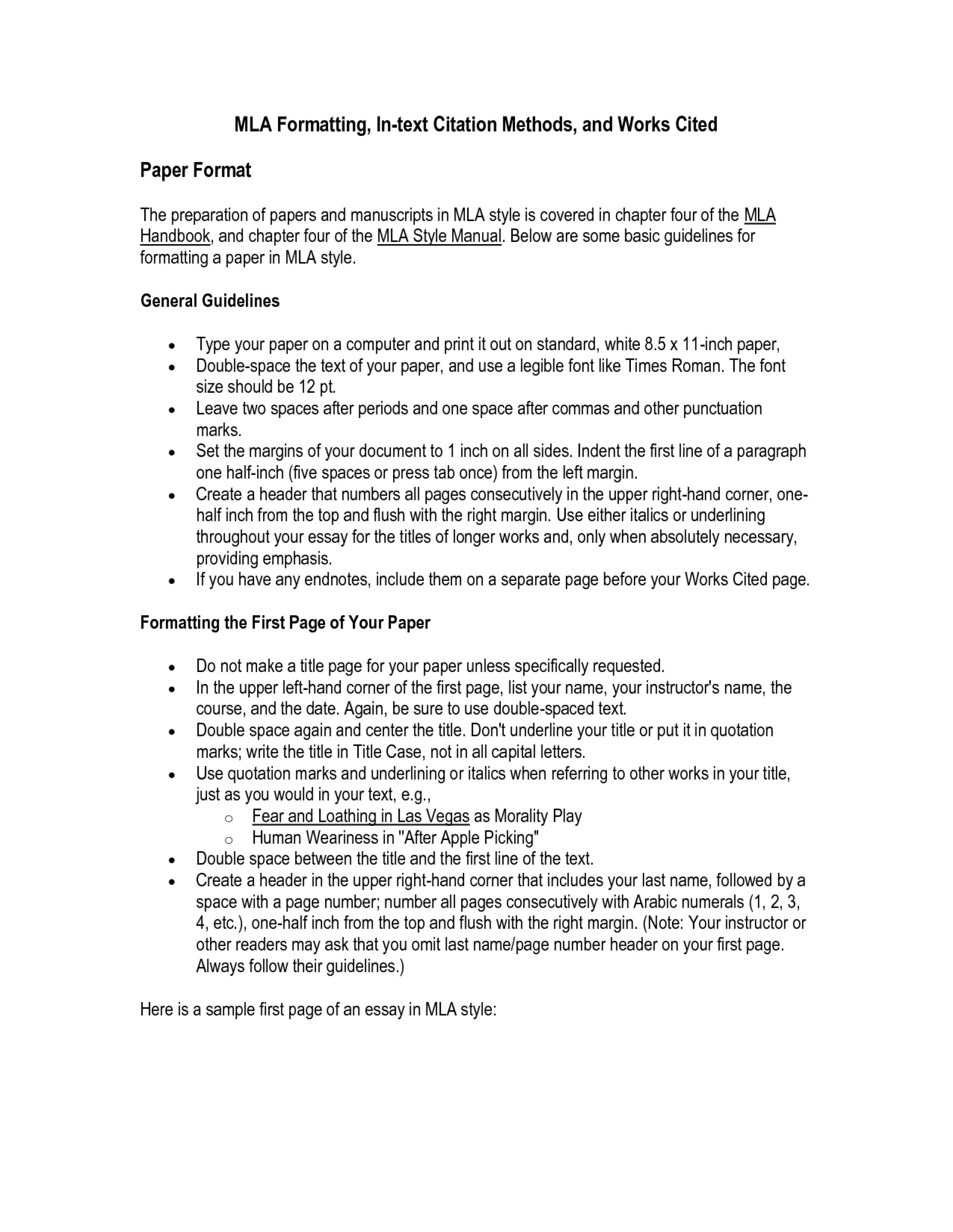 014 How To Cite An Essay In Mla Format Work Cited Example Nardellidesign X Unusual A Paper Research Papers 8 1920