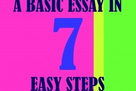 014 How To Write Basic Essay In Seven Easy Steps Writing An Stunning Middle School Argumentative