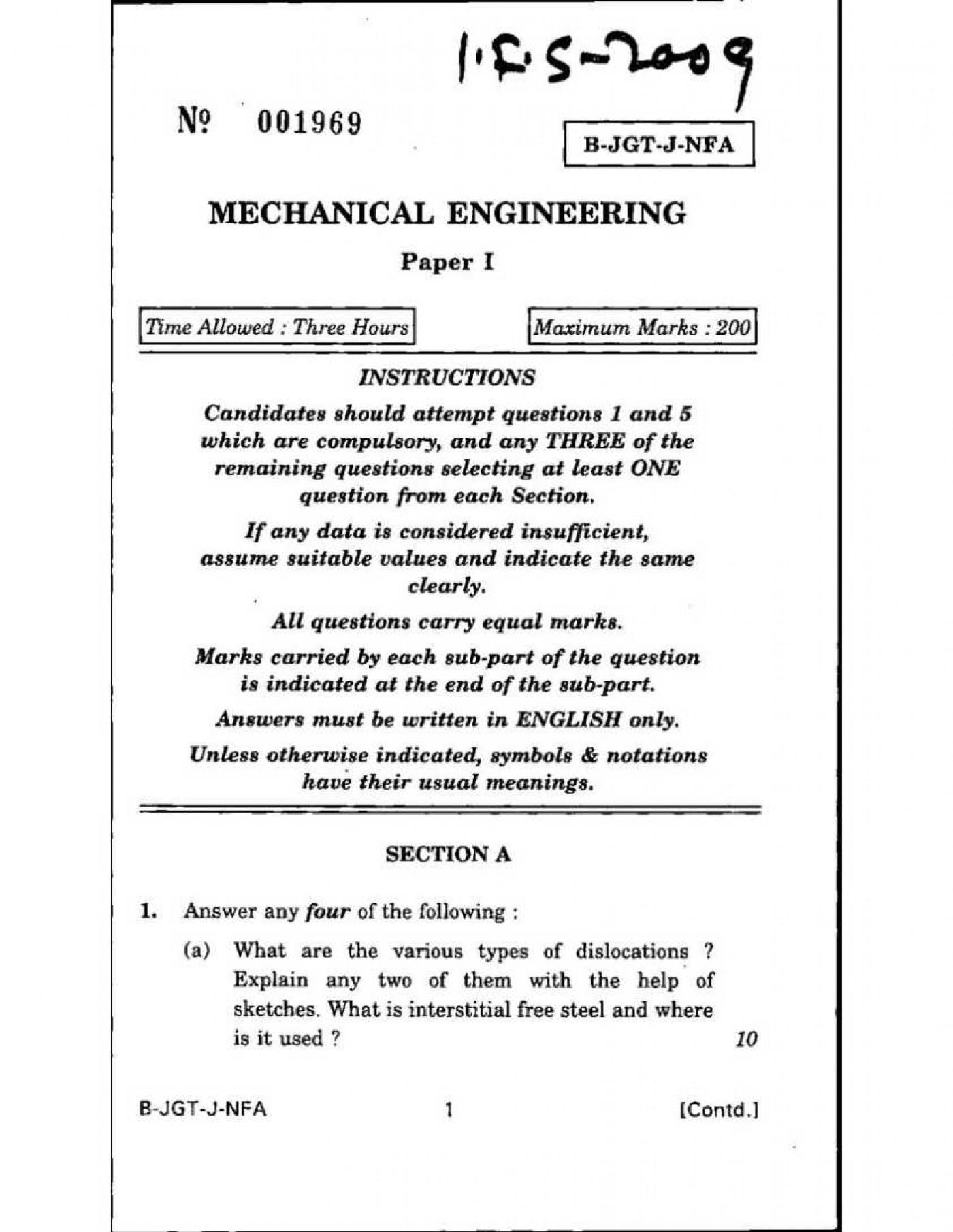 011 mechanical engineering essay topics example essays