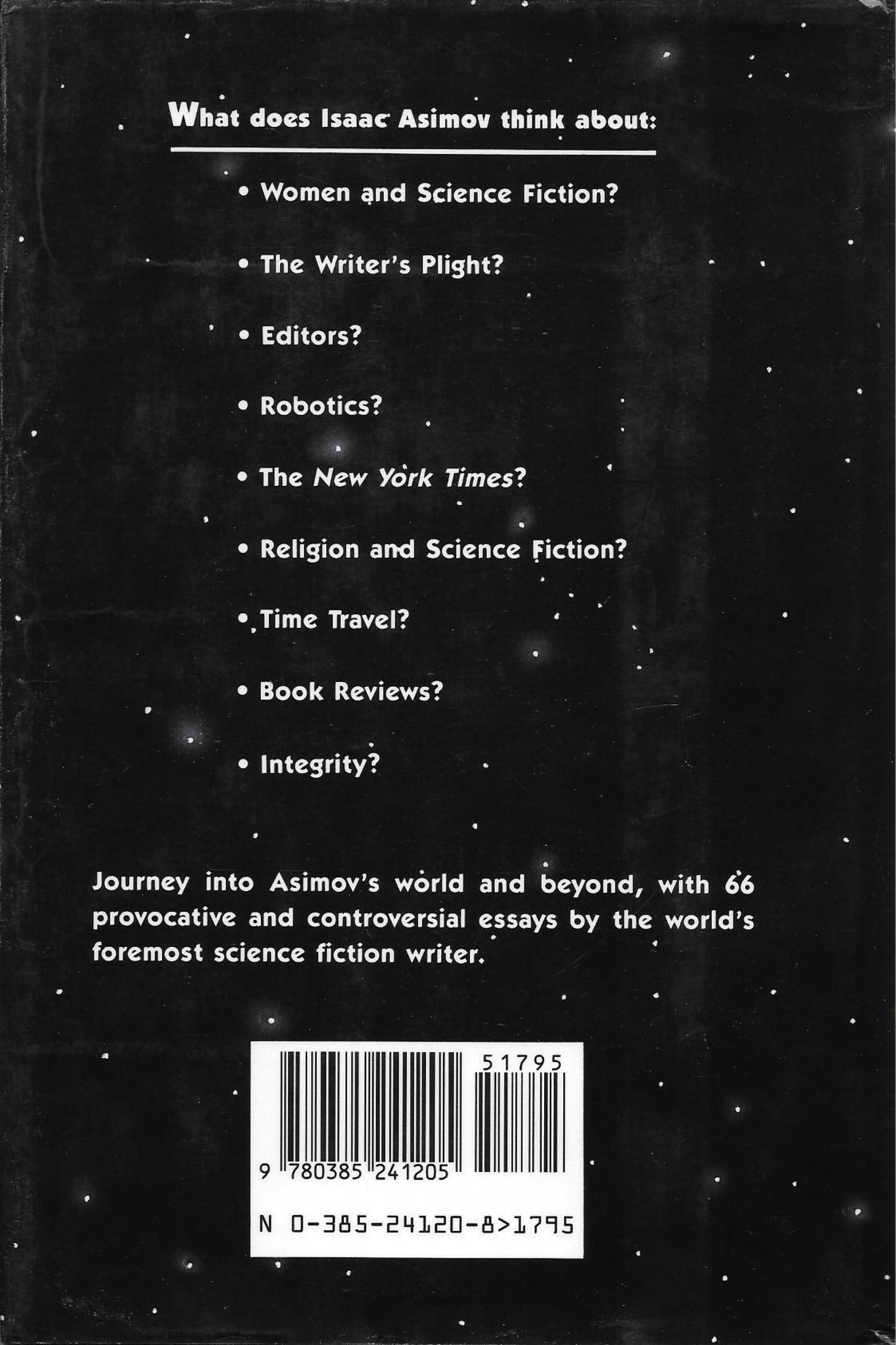 014 Isaac Asimov Essays 71gbytofqyl Essay Awful On Creativity Intelligence 1920