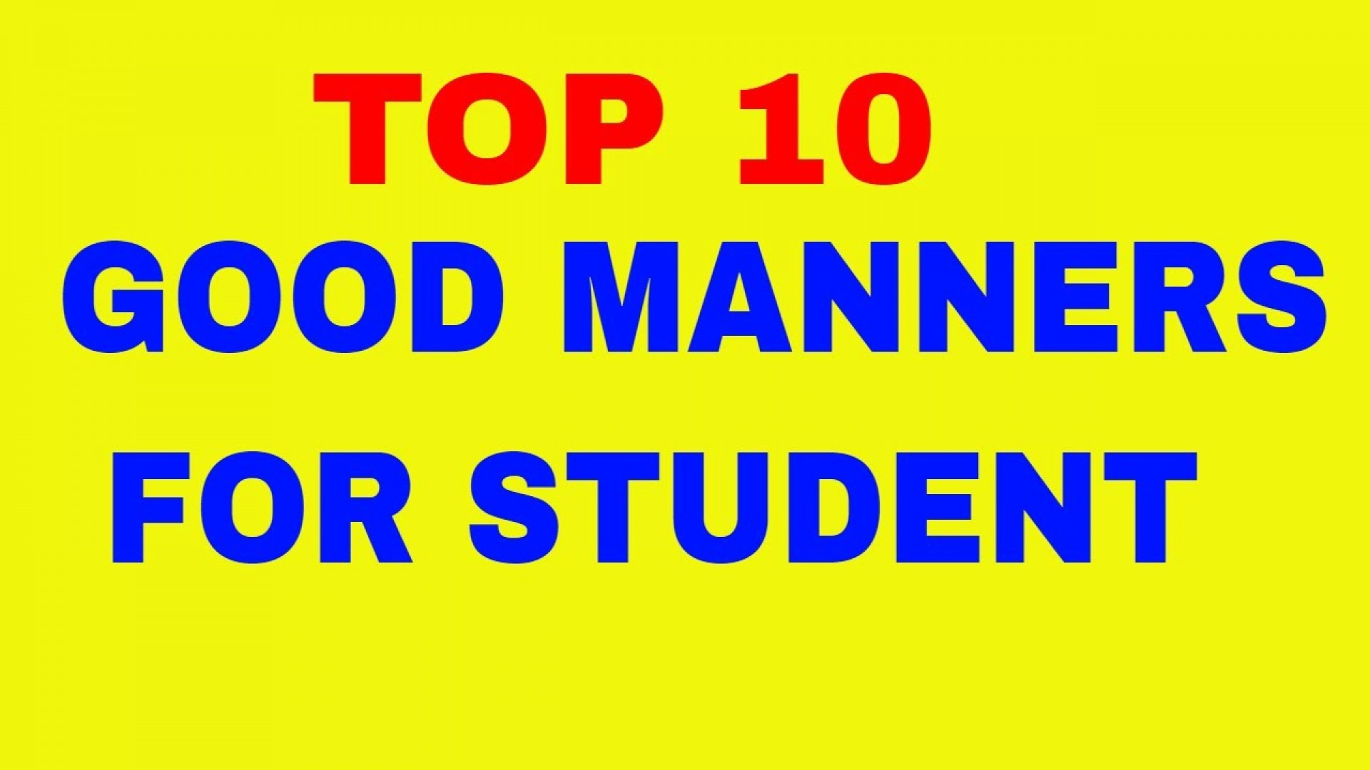 014 Maxresdefault Essay Example About Good Staggering A Student Responsibilities Of In Urdu Write An What Are The Quality Characteristics 1920