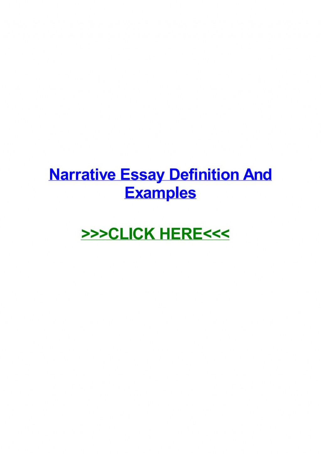 014 Narrative Essay Definition Example Page 1 Stunning Literature Meaning Large