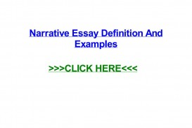 014 Narrative Essay Definition Example Page 1 Stunning Literature Meaning