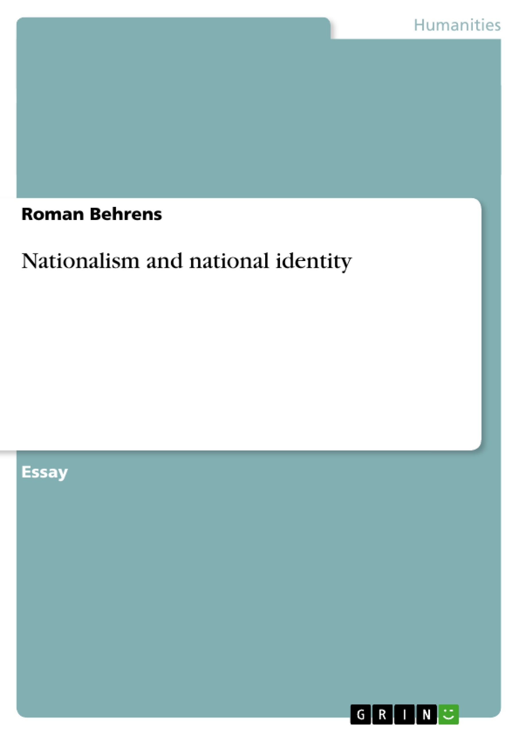 014 Nationalism Essay 129796 0 Impressive Topics African Pdf Full