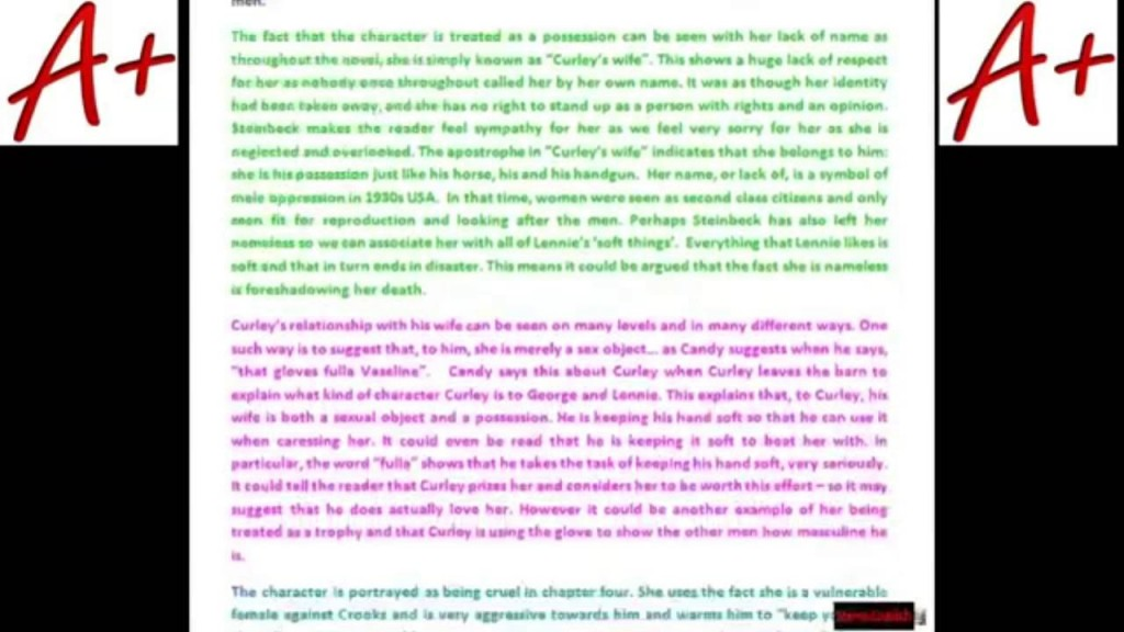 014 Of Mice And Men Loneliness Essay Maxresdefault Rare Large