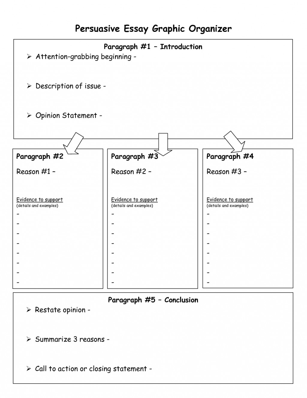 014 Paragraph Essay Graphic Organizer Examples Middle School Writing Organizers Argumentative Pdf Example Sensational 5 Five High Organizer-hamburger Large