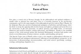 014 Political Essay Crossword Phaenex Cfp Special Topic Eros English Dreaded Puzzle Clue