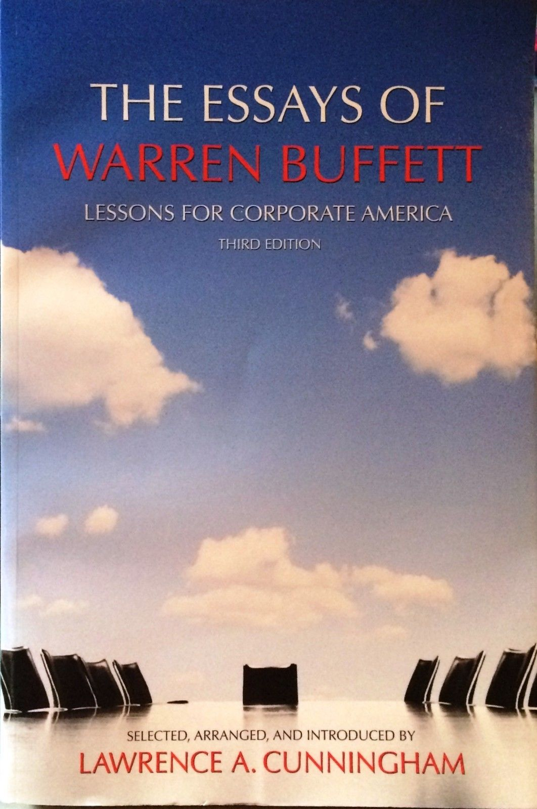 014 S L1600 Essay Example The Essays Of Warren Buffett Lessons For Corporate Remarkable America Third Edition 3rd Second Pdf Audio Book Full