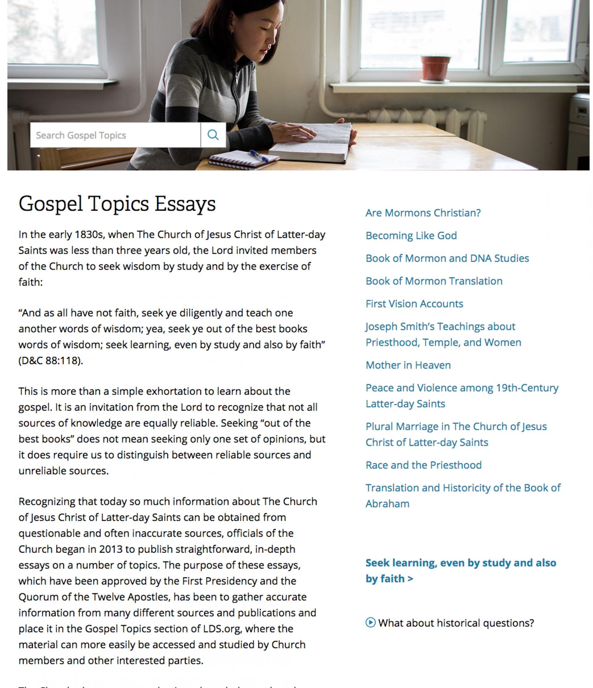 014 Screen20shot202016 1620at208 0920pm Gospel Topics Essays Essay Outstanding Book Of Abraham Pdf Mormon Translation 1920