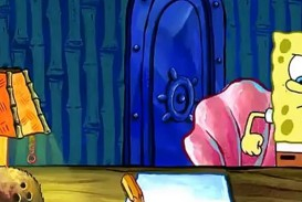 014 Spongebob Writing Essay Paper Homework Service Rap 1280x72 The For Hours Gif Meme Font Remarkable