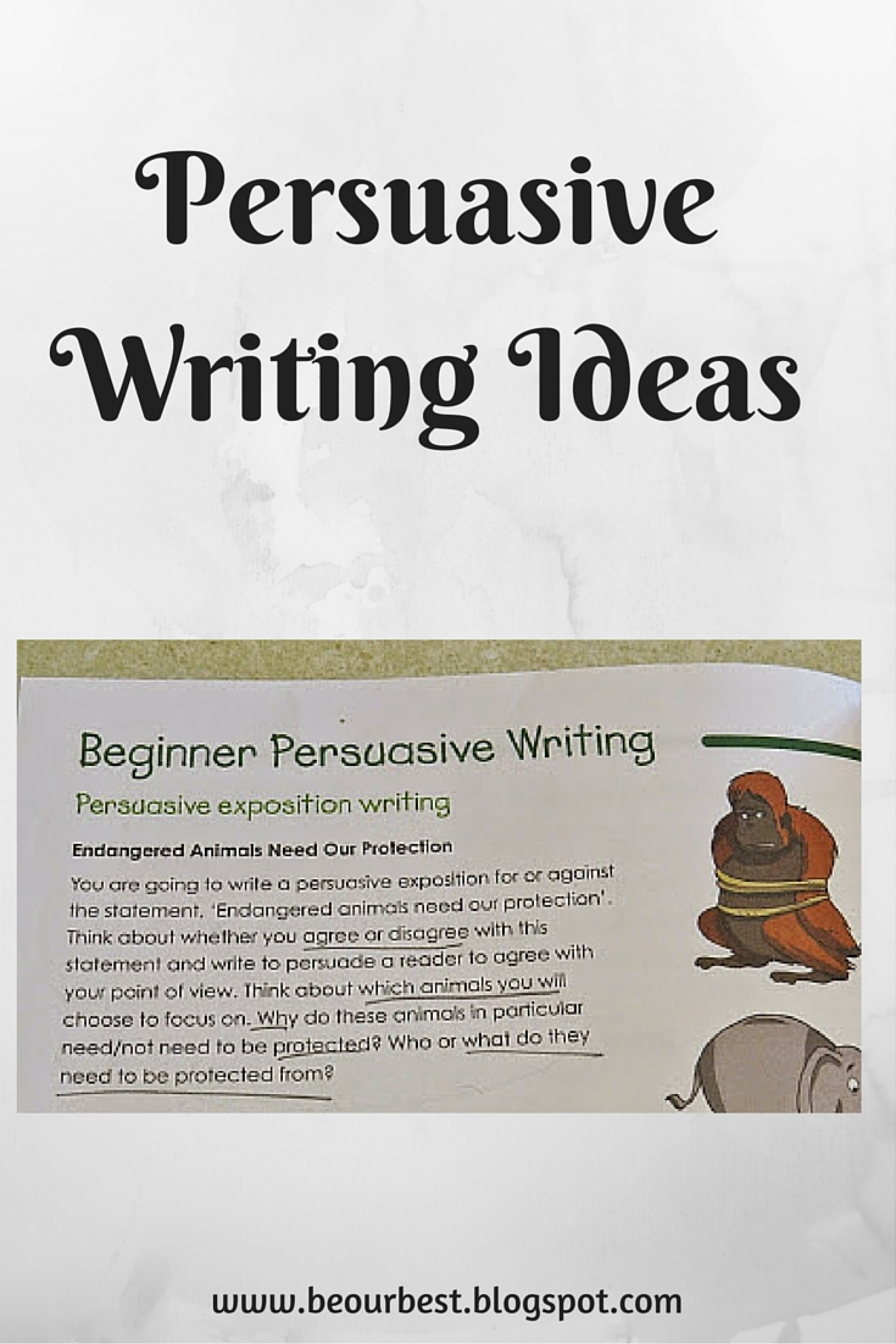 014 Topics For Persuasive Essays Essay Example Incredible 4th Grade 1920
