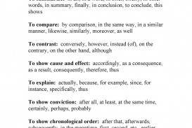014 Transitional20words20and20phrases Page 1 How Many Sentences Are In Essay Best A Much Make Paragraph An 250 Word