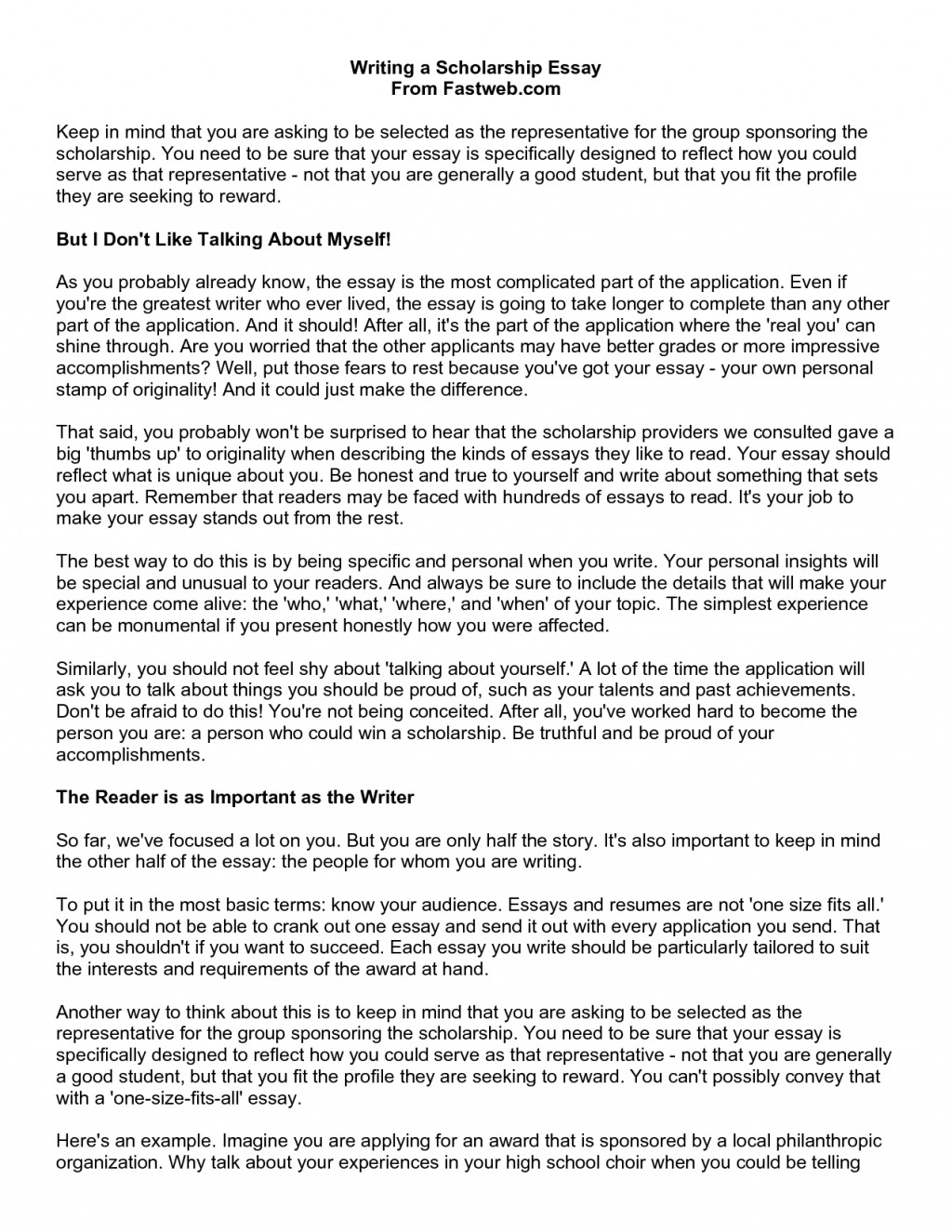 014 Why Do You Deserve This Scholarship Essay Over Coursework Service Epassignmentuill Tips On How To Write Good Axvul Study Abroad Samples About Financial Need Awesome Think Sample A Large