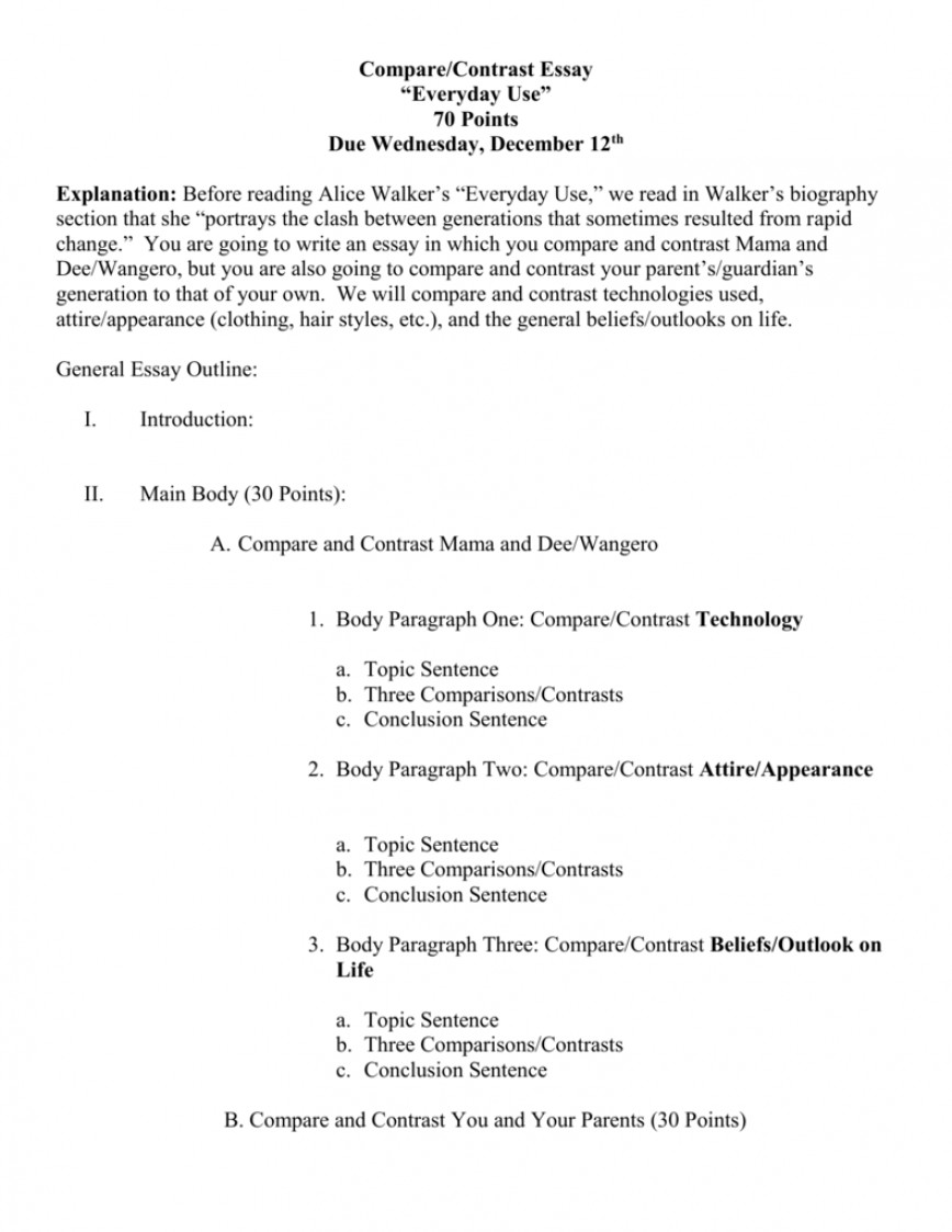 015 007806300 2 Essay Example Compare Contrast Impressive Outline And Format 3rd Grade Pdf