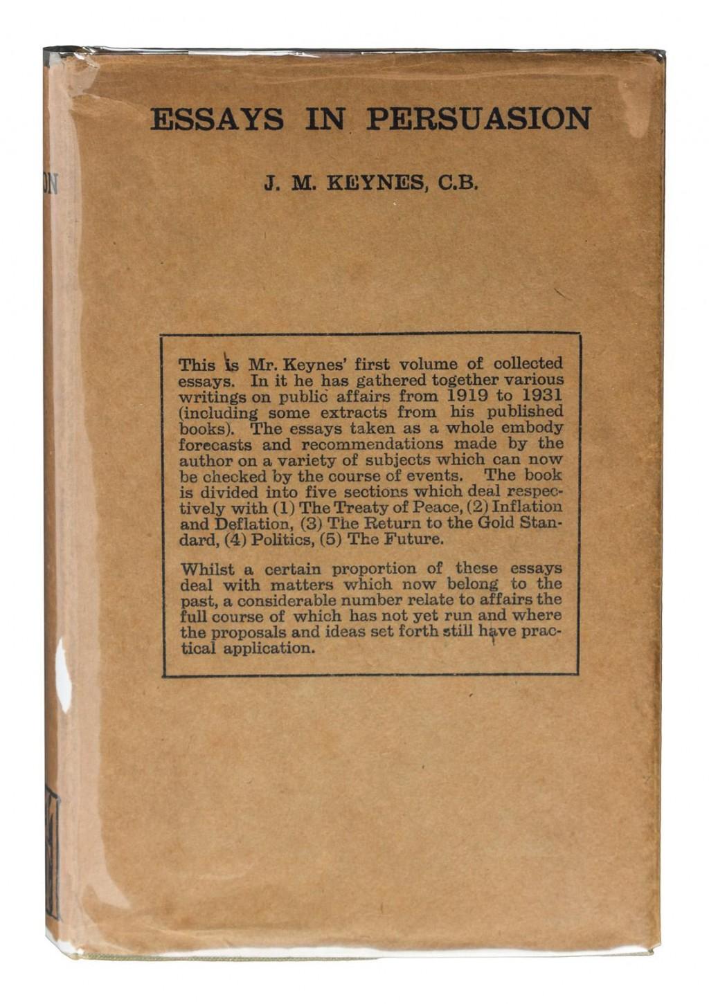 015 237551 0 Essay Example Essays In Remarkable Persuasion Audiobook Pdf John Maynard Keynes Summary Large