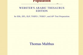 015 61groeunvgl Essay On The Principle Of Population Singular Thomas Malthus Sparknotes Advocated Ap Euro