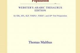 015 61groeunvgl Essay On The Principle Of Population Singular Pdf By Thomas Malthus Main Idea