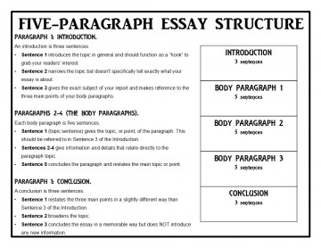015 Animalreport1 Paragraph Essay Singular 5 Template For High School Example Doc 360