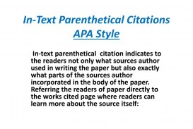 015 Apa Citation In Essay Example Text Parenthetical Citations Style Stupendous Cite A Book Paper Multiple Authors