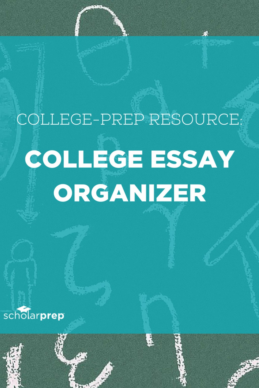 015 College Essay Organizer Prep Resource Surprising Application Graphic Organizers Argumentative Large