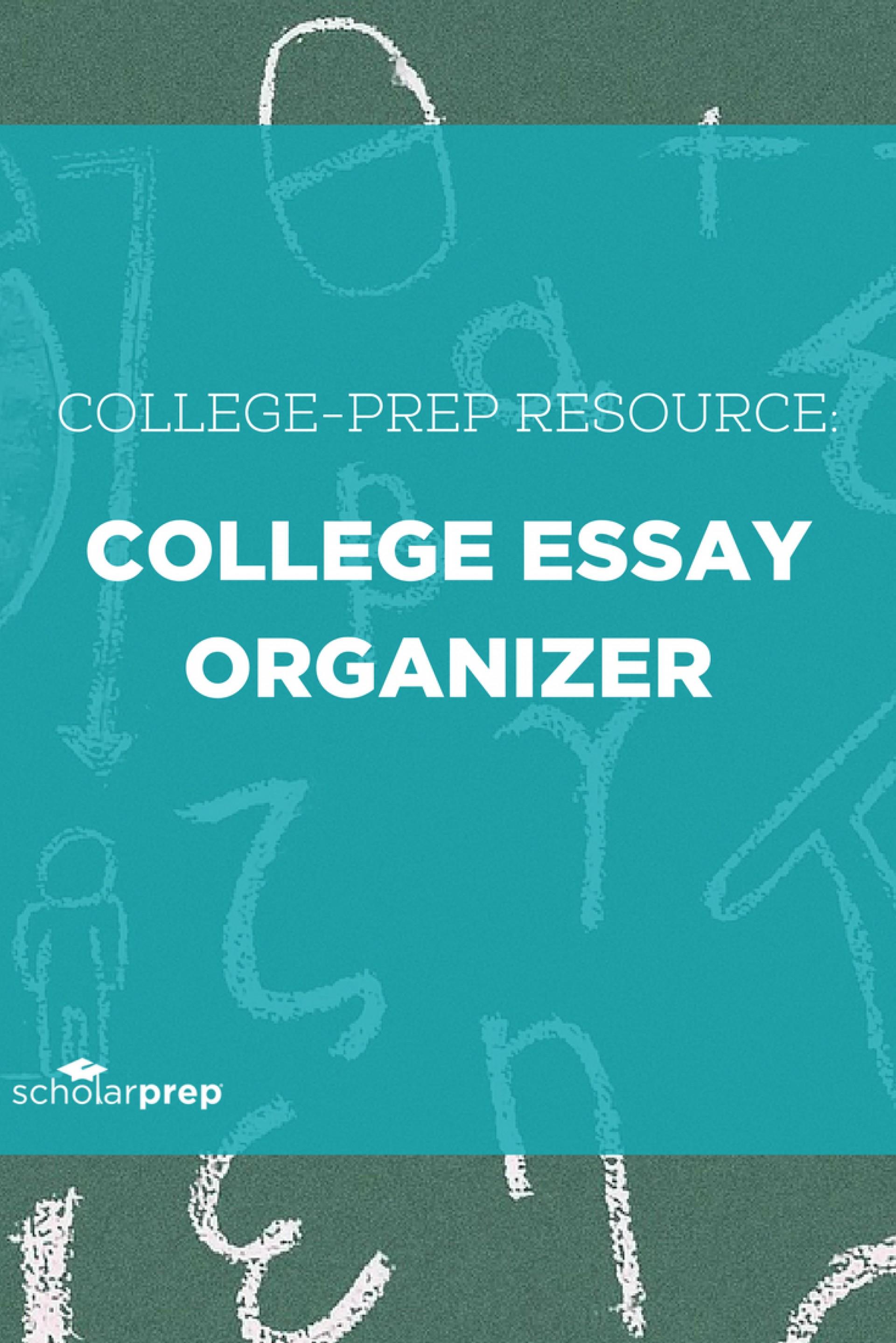 015 College Essay Organizer Prep Resource Surprising Application Graphic Organizers Argumentative 1920