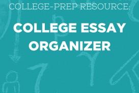 015 College Essay Organizer Prep Resource Surprising Application Graphic Organizers Argumentative