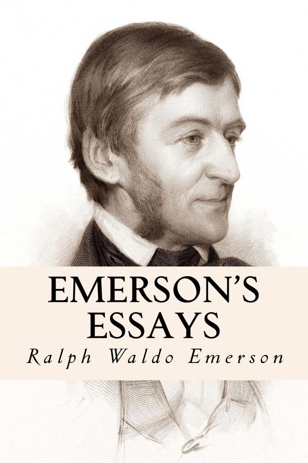 015 Emerson Essays S Essay Dreaded Ralph Pdf First Series Summary Waldo Nature Large