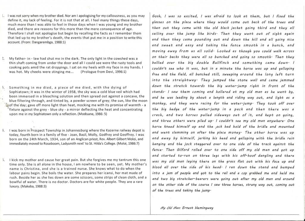 015 English Writing Sample Essays Essay Example Good Vs Striking Creative Large