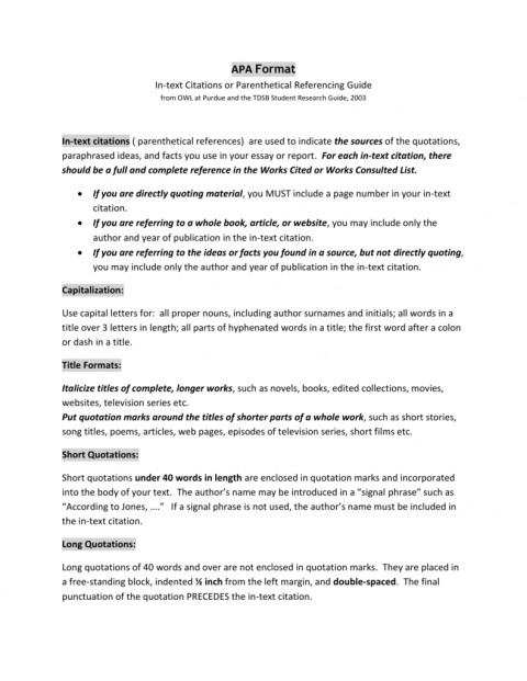 007 How To Cite Short Story In An Essay Titles Essays Ways