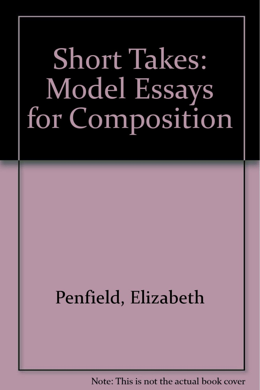 015 Essay Example 61cenqqb8bl Models For Writers Short Essays Singular Composition 12th Edition Pdf 13th Large
