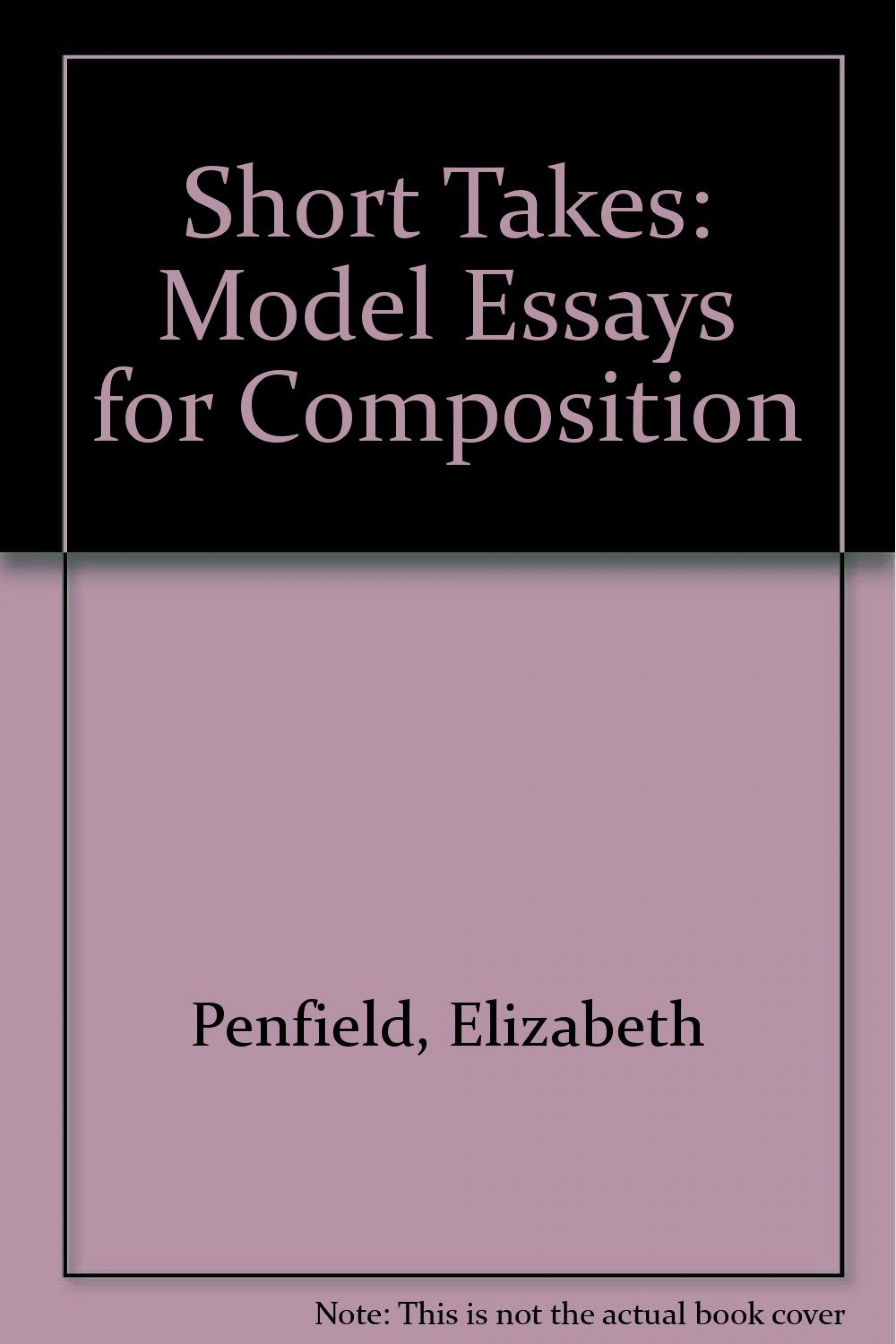 015 Essay Example 61cenqqb8bl Models For Writers Short Essays Singular Composition 12th Edition Pdf 13th 1920