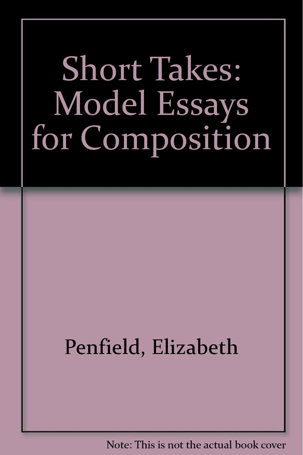 015 Essay Example 61cenqqb8bl Models For Writers Short Essays Singular Composition 12th Edition 13th Pdf Full