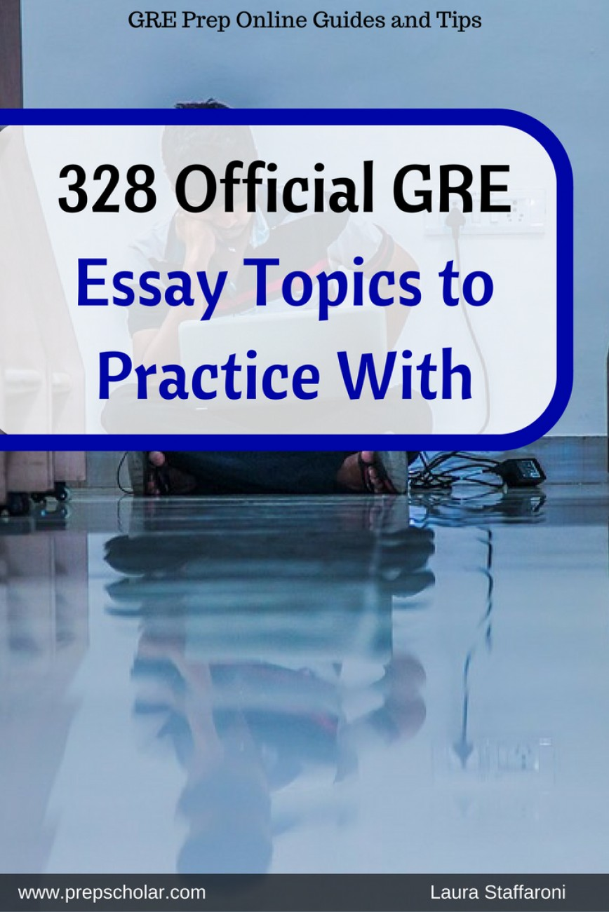 015 Essay Example Remarkable Gre Topics Pdf Analytical Writing Grader Issue Pool Solutions 868