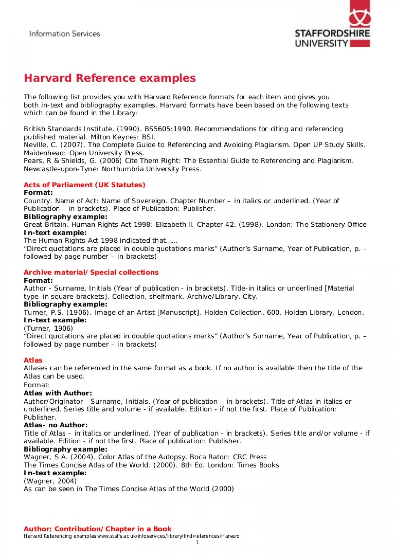 015 Essay Example Act Samples Of Harvard Referenced Sample Essays Harvardreferencingexamples Phpapp01 Thumbn Topics New Pdf Wonderful 1920