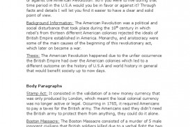 015 Essay Example American Revolution International Relations Paragraph Boston Tea Fascinating Causes Of The Conclusion Outline Introduction