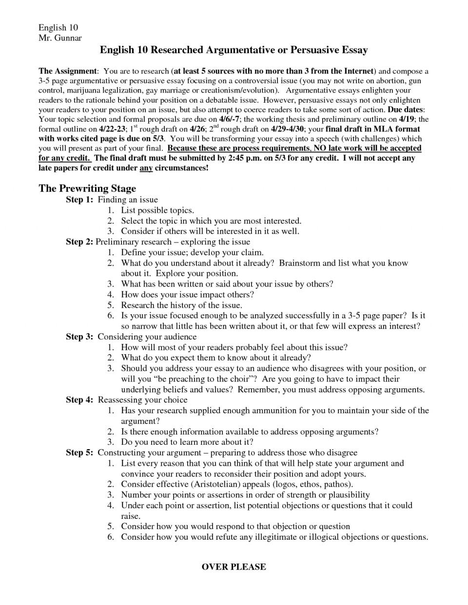 015 Essay Example Argument Structure Toreto Co Persuasive Outline Template Argumentative Ex Pdf College Middle School Sample Outstanding Prezi Nat 5 960