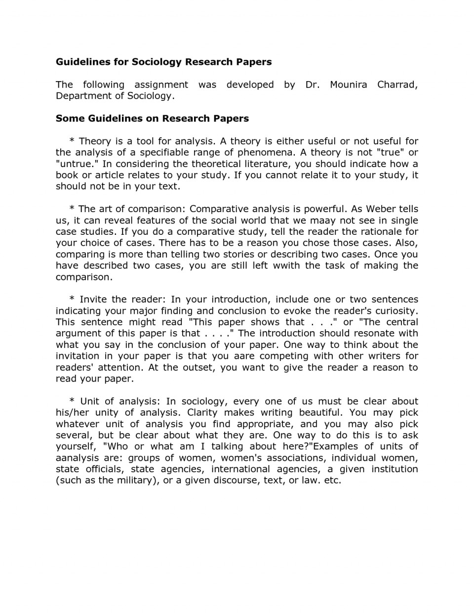 Meaning of abstract in term paper