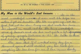 015 Essay Example Best Mom Words Or Less Writing My Life Contest Good Vocabulary For Worlds Mot Some Fantastic 100 About Trends And Fads Short On Social Media