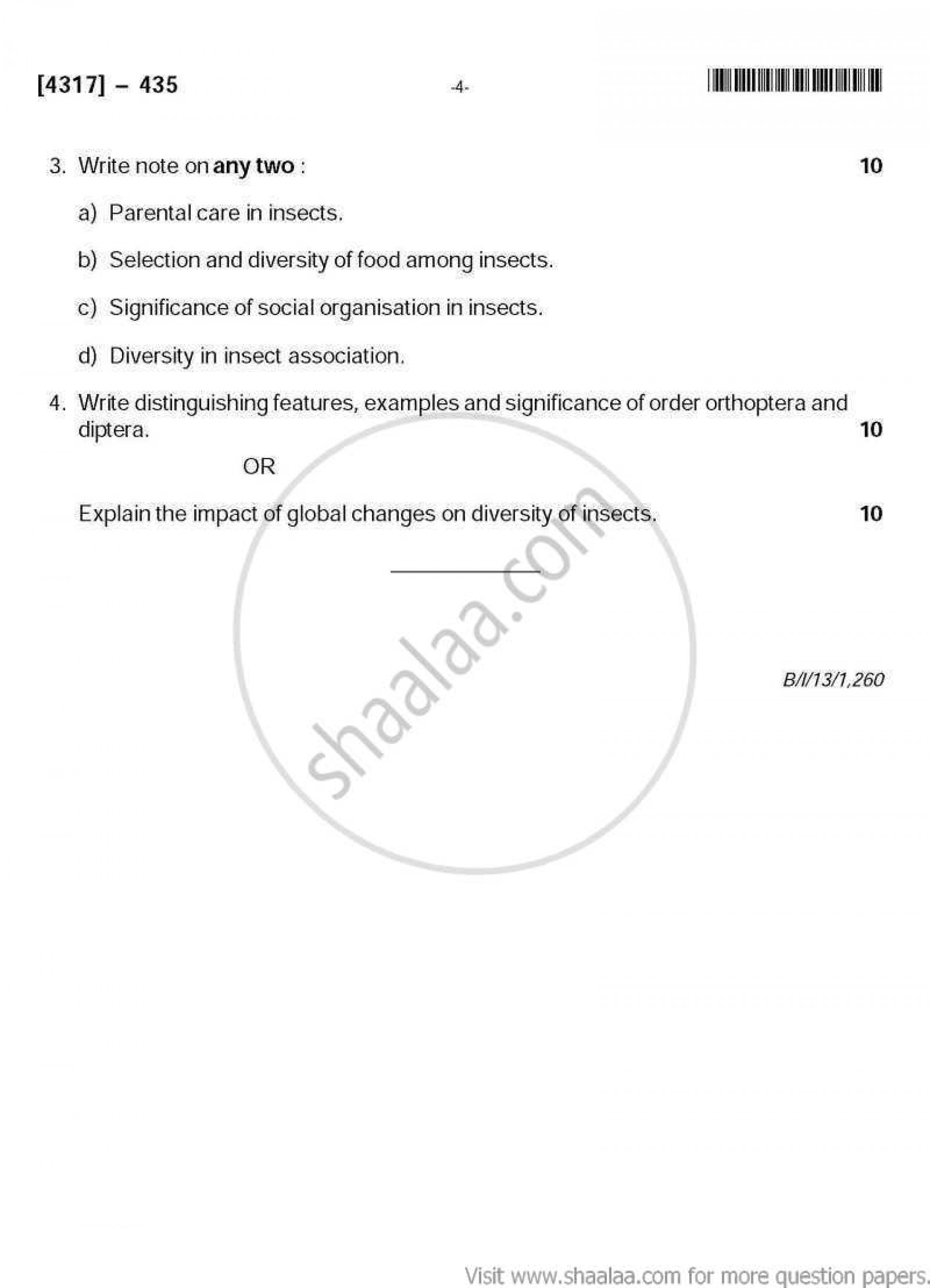 015 Essay Example Biodiversity Topics Science Common Zoology University Pune Conservation Environment Questions On What Means About Argument Writing Pdf Competition Loss Phenomenal 1920
