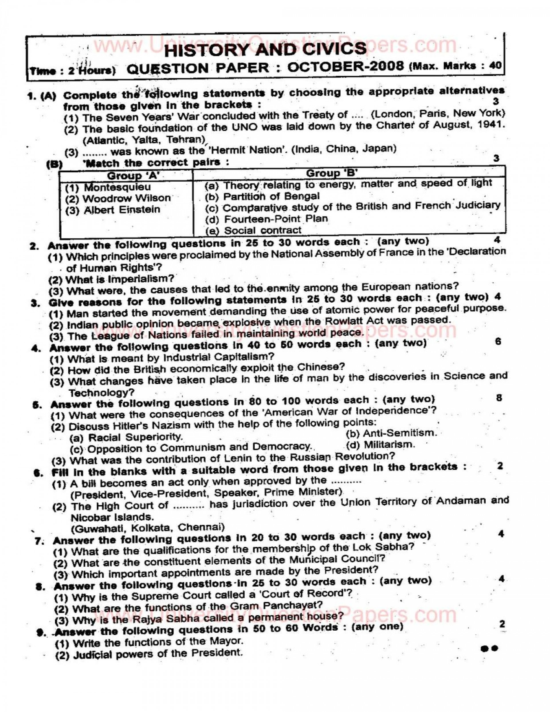 015 Essay Example Black History Topics Question Papers For Breathtaking 1920
