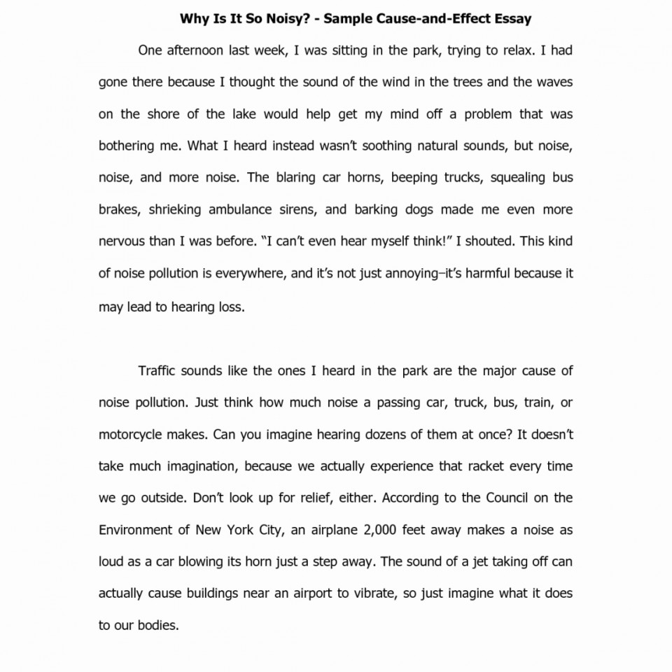 015 Essay Example Cause And Effect Examples Format Best Of For Or Good Cover Bystander Domino Analysis Ielts Free 6th Grade College Pdf Middle Amazing Divorce On Stress 4th 960