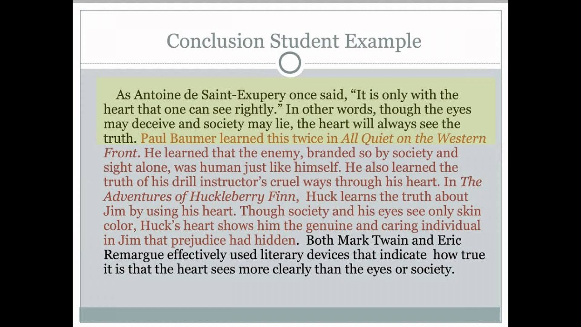 015 Essay Example Conclusion To Persuasive Outstanding Good A The Strongest 1920