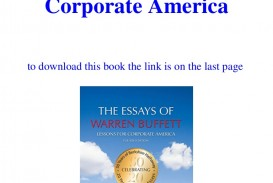 015 Essay Example Downloadtheessaysofwarrenbuffettlessonsforcorporateamericaebookpdf Thumbnail The Essays Of Warren Buffett Lessons For Corporate Remarkable America Third Edition 3rd Second Pdf Audio Book