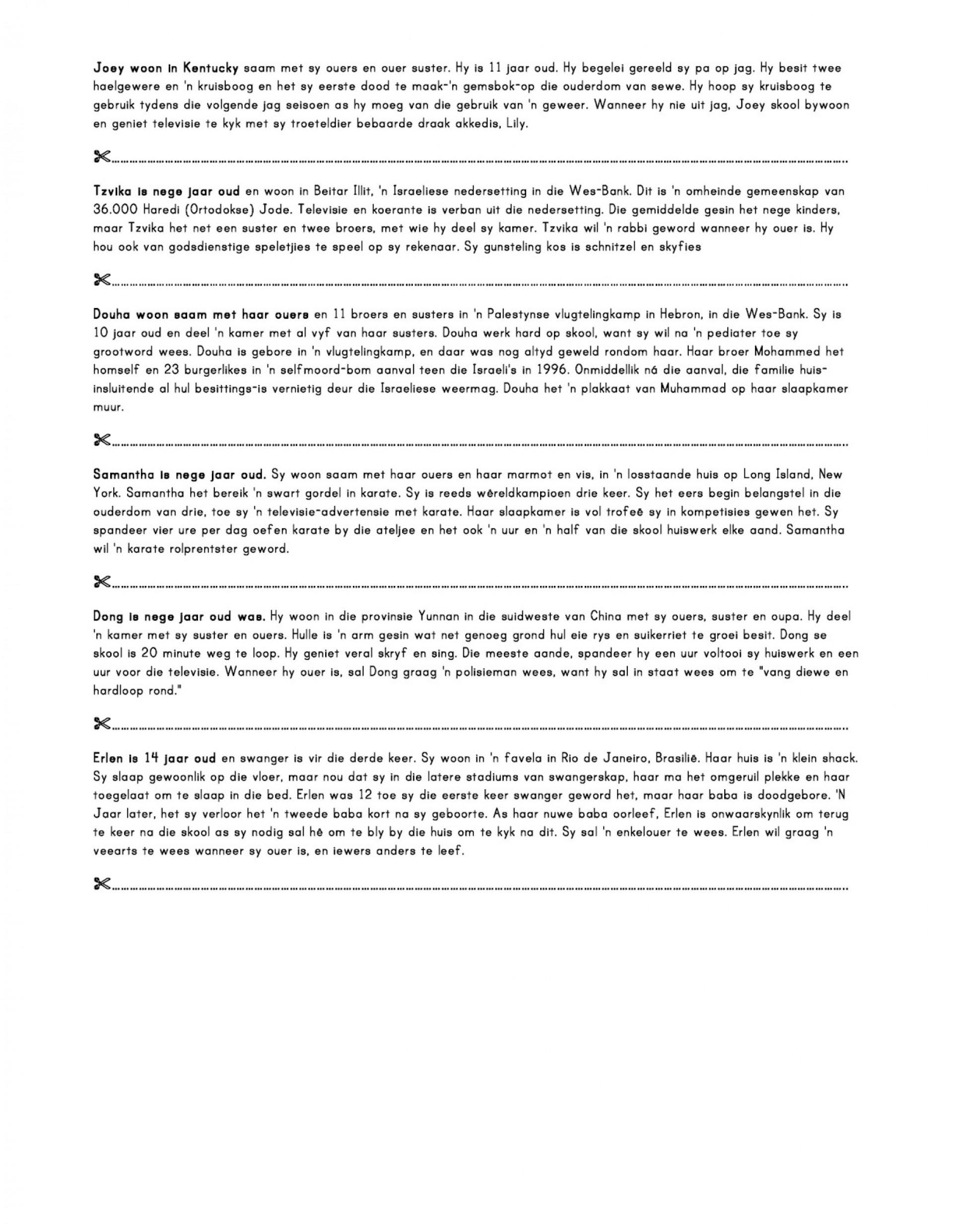 015 Essay Example Foto20text Page Jpg On Rare Children Children's Day In Kannada Telugu 1920