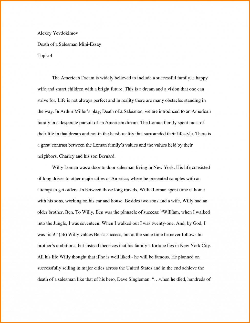 015 Essay Example How To Start An About Myself Yourself Letter Template Photo For College University Autobiography Introductory Scholarship With Quote Examples Unique Off A Job Large