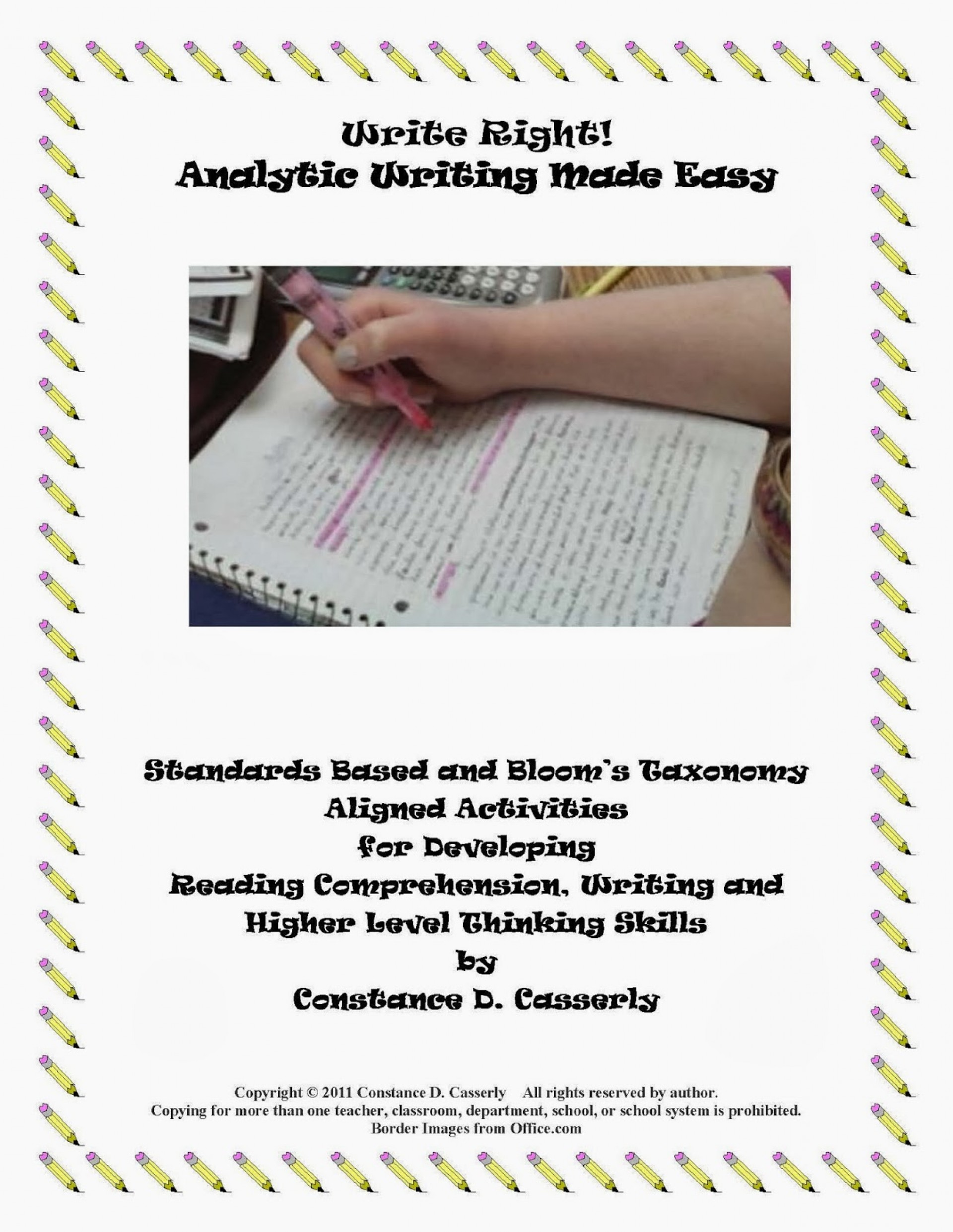 015 Essay Example Kincaid Write Right Analytic Writing Made Easyrev Page Girl By Jamaica Pdf On Research Analysis Marvelous 1920