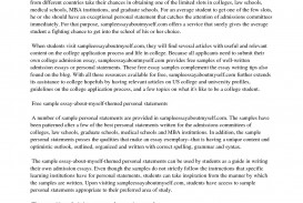 015 Essay Example My Stunning Name College Esperanza Conclusion