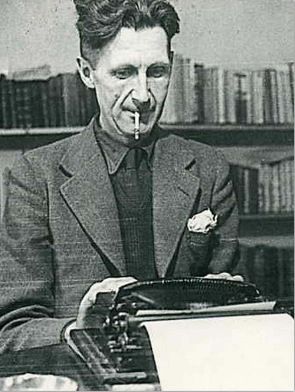 015 Essay Example Orwell Typewriter Singular Essays Pdf Themes Large