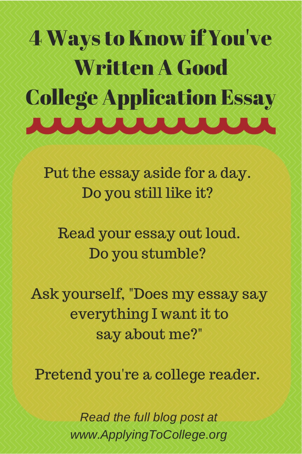 015 Essay Example Read My To Me 4ways Know If Youve Written Unique And Tell It's Good Large