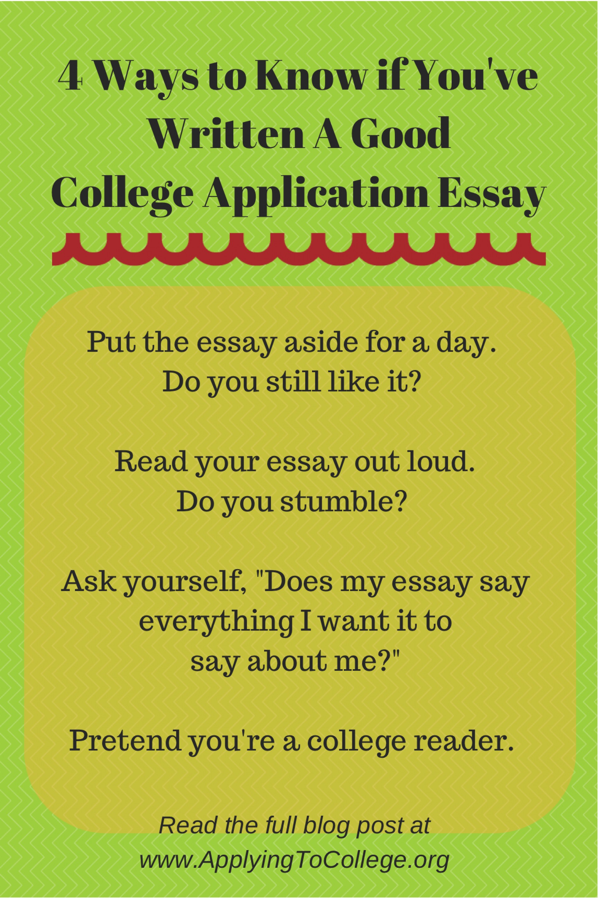 015 Essay Example Read My To Me 4ways Know If Youve Written Unique And Tell It's Good 1920